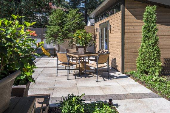 Lay the Perfect Outdoor Dining Area Flooring with Textured Paving Stones in Bergen County, NJ