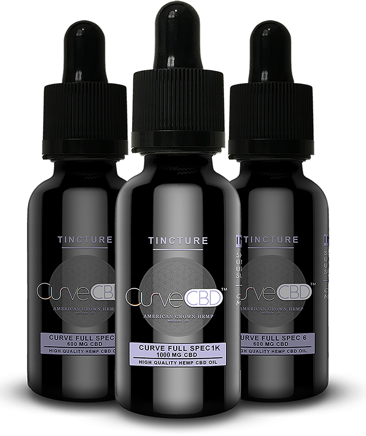 CURVE CBD FULL SPECTRUM CBD OIL