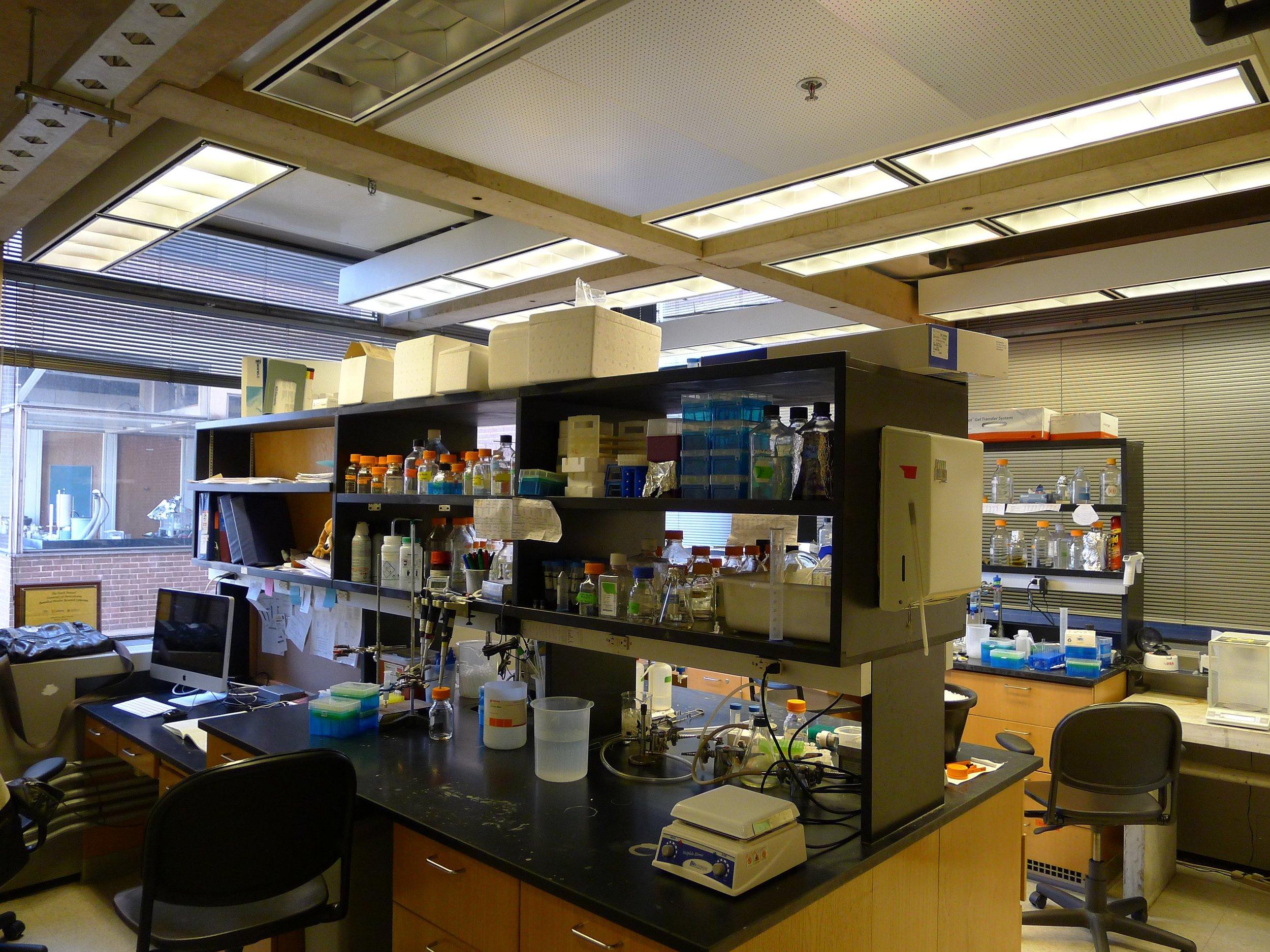3B. Corner lab before renovation.jpg