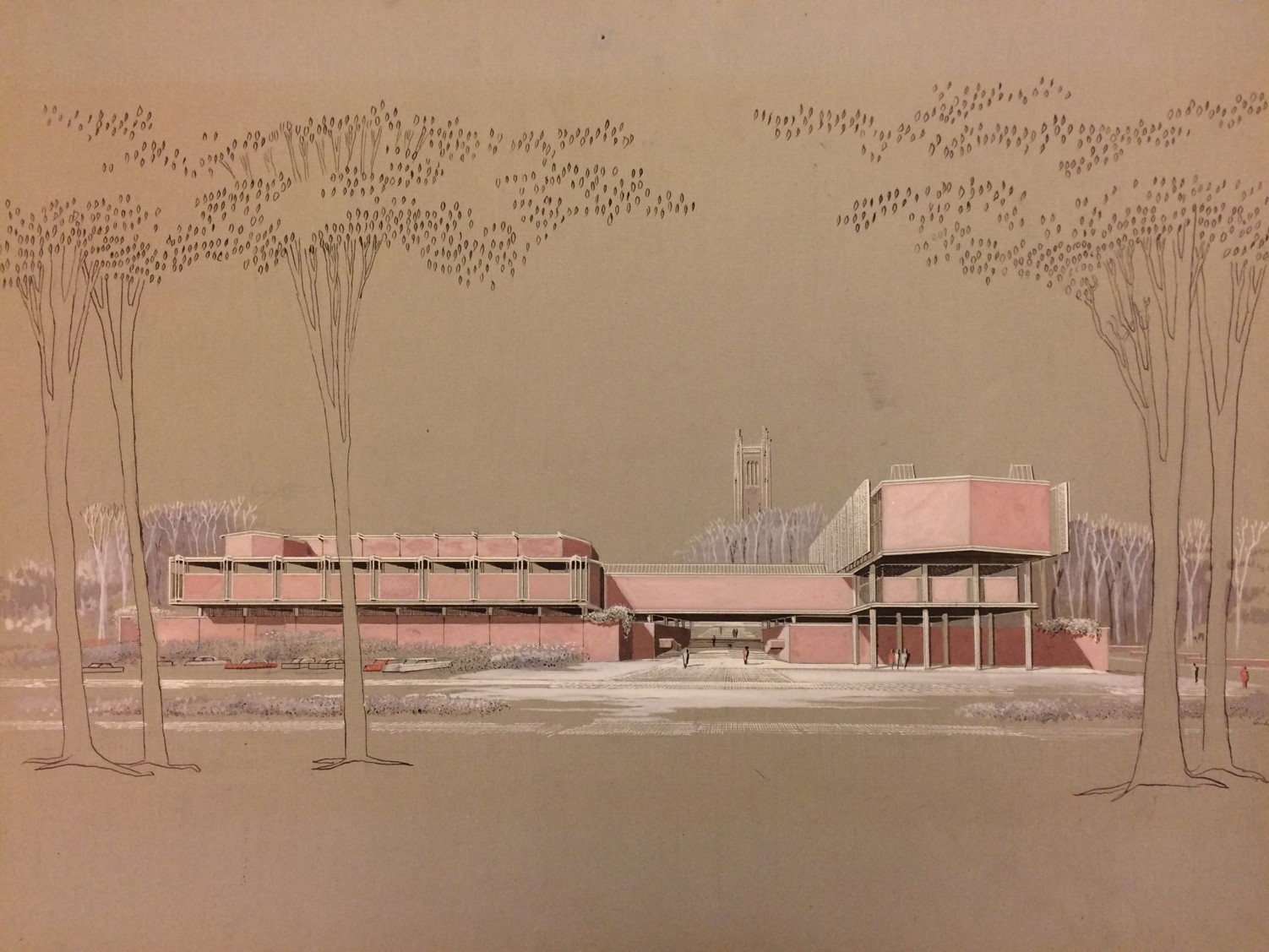 Wellesley College - Jewett Arts Center Conservation Plan - Conservation Management Plan for Paul Rudolph's Jewett Arts Center, his first major institutional work and first outside Florida. Funded by a