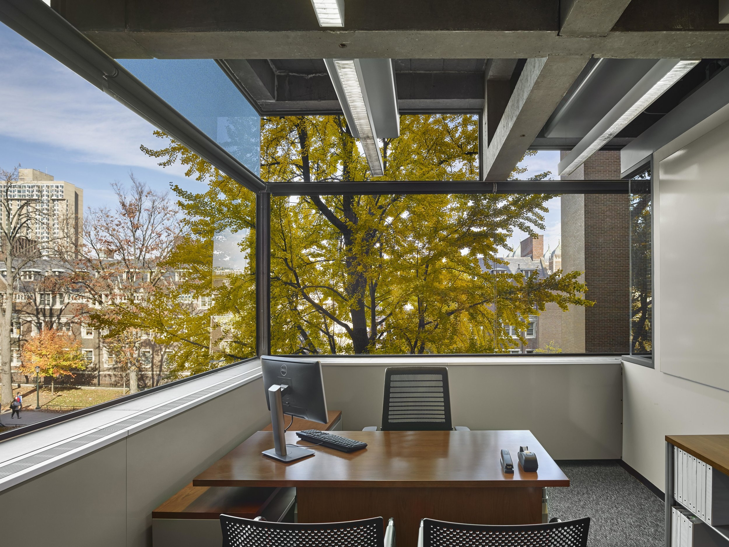 Richards Laboratory   - Renovation and transformation of Louis Kahn's signature 1961 research laboratory into a Center for Cognitive Neuroscience. 2011-2015,  The renovation transformed Richards into