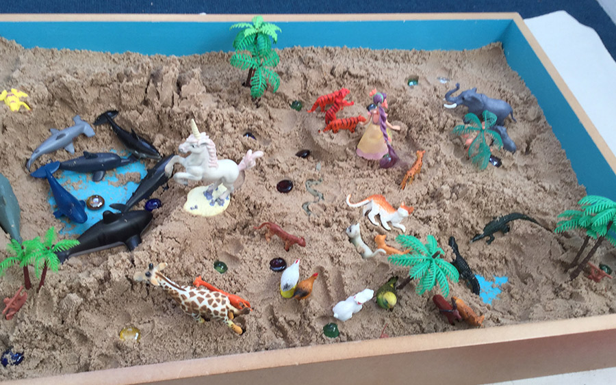 Sandplay therapy in Cornwall
