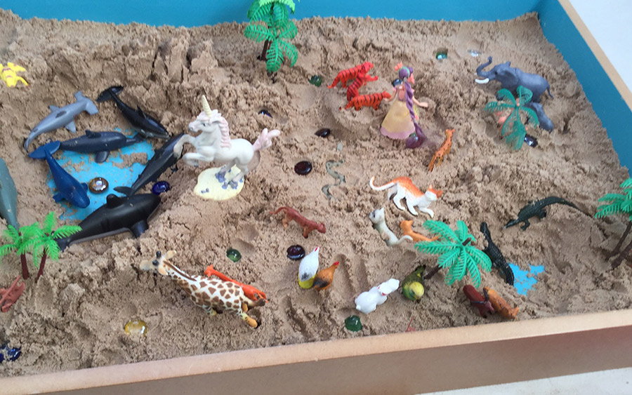 Play Therapy using Sandplay in Cornwall