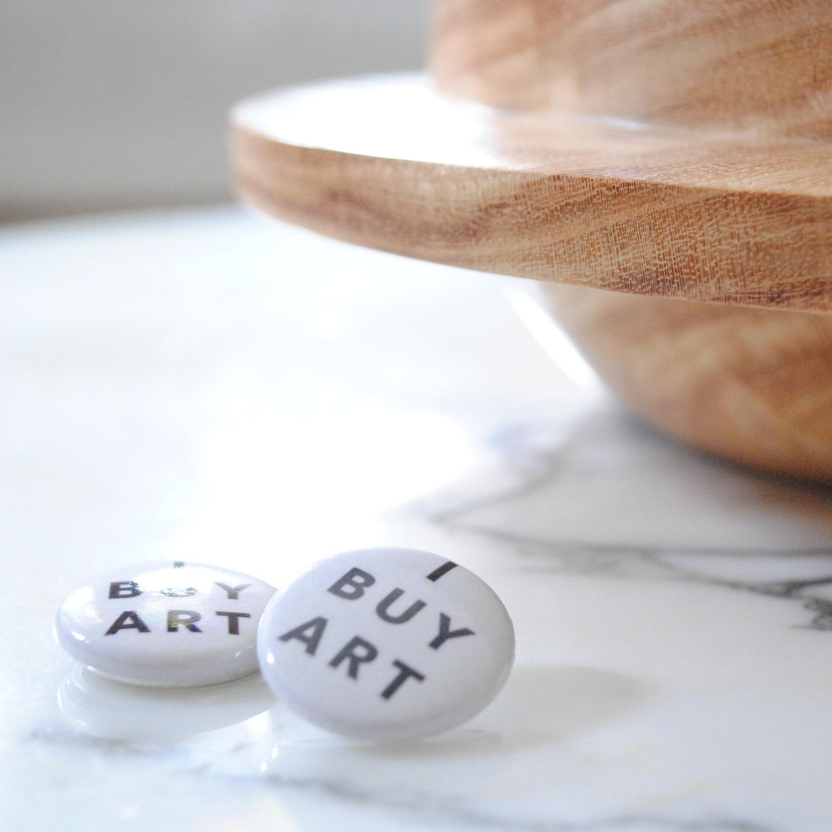 i buy art peoria art fair campaign