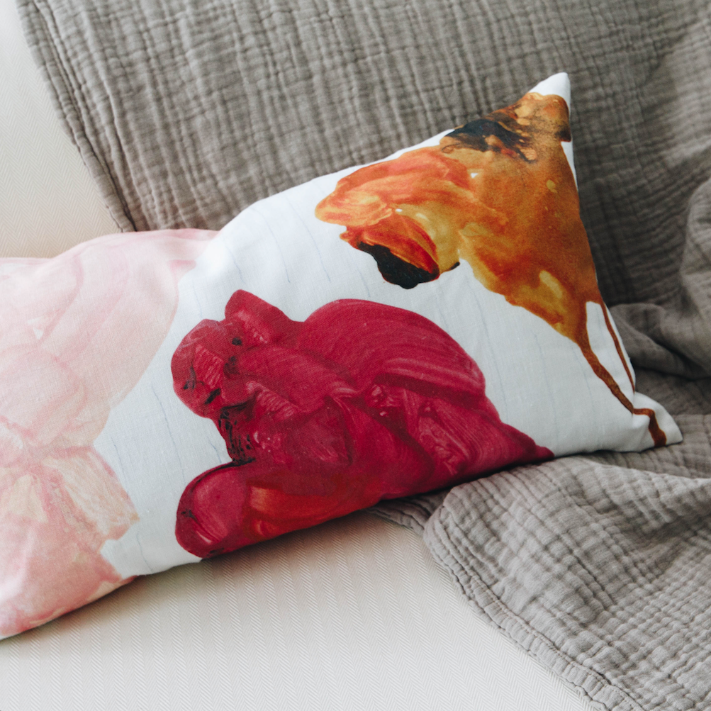 alexander martin collecture fabric pillows press release