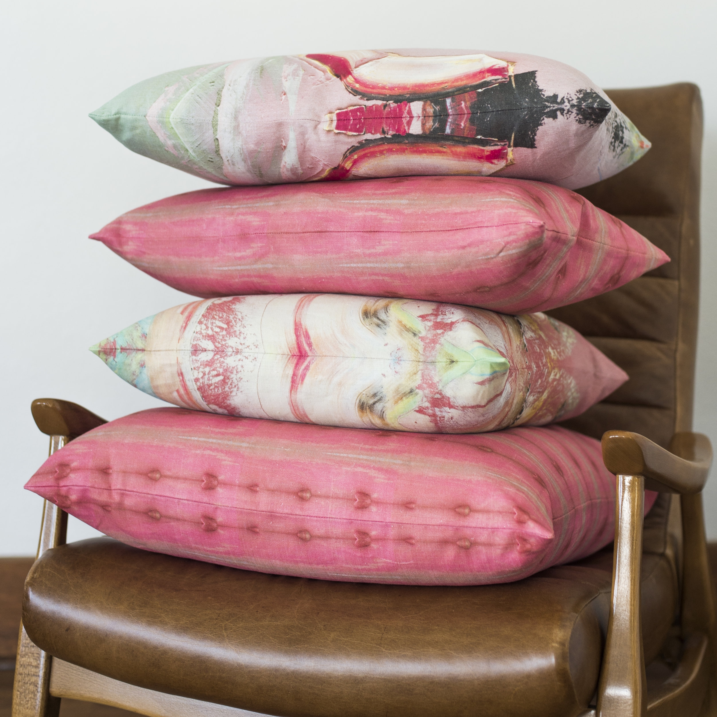 collecture pillows stacked