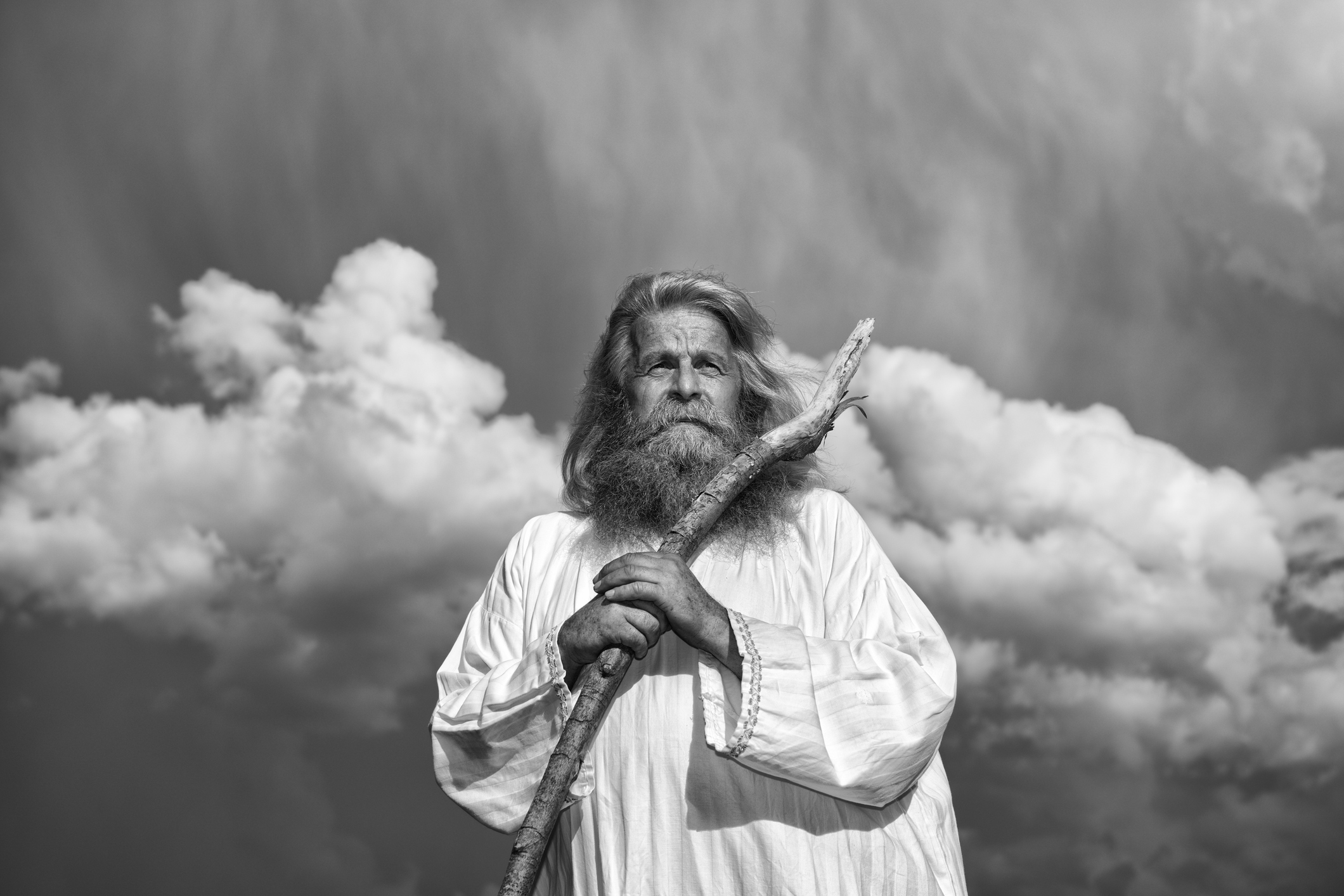 Moses with his staff. By Greg Taylor with The Journey: A New Generation Church of Christ