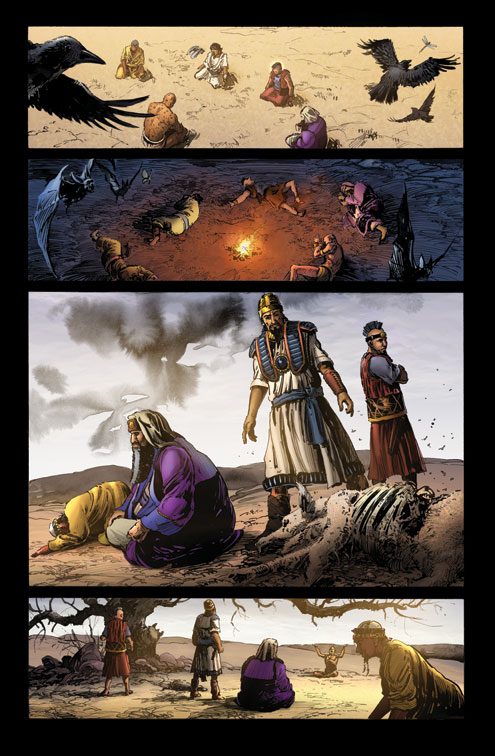 Used by permission of Kingstone Comics https://kingstone.co/ || The Journey: A New Generation Church of Christ