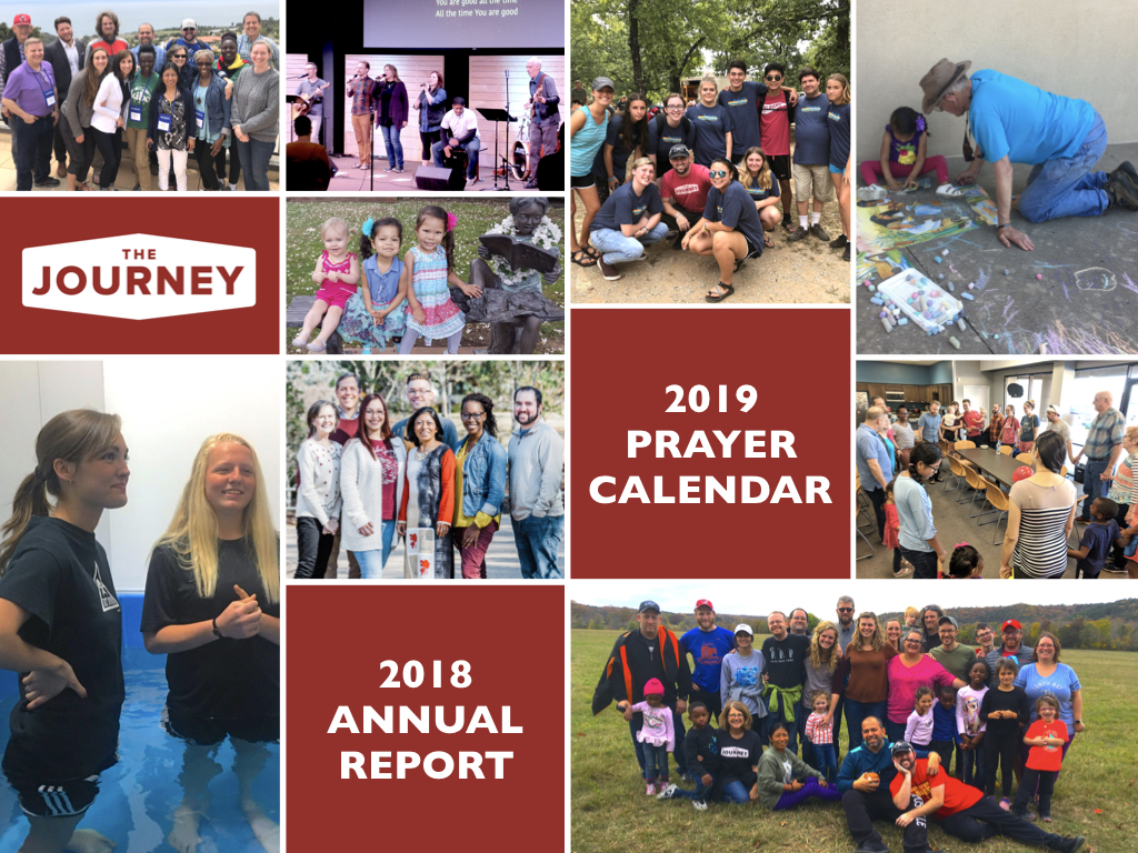 The Journey 2018 Annual Report and 2019 Prayer Calendar