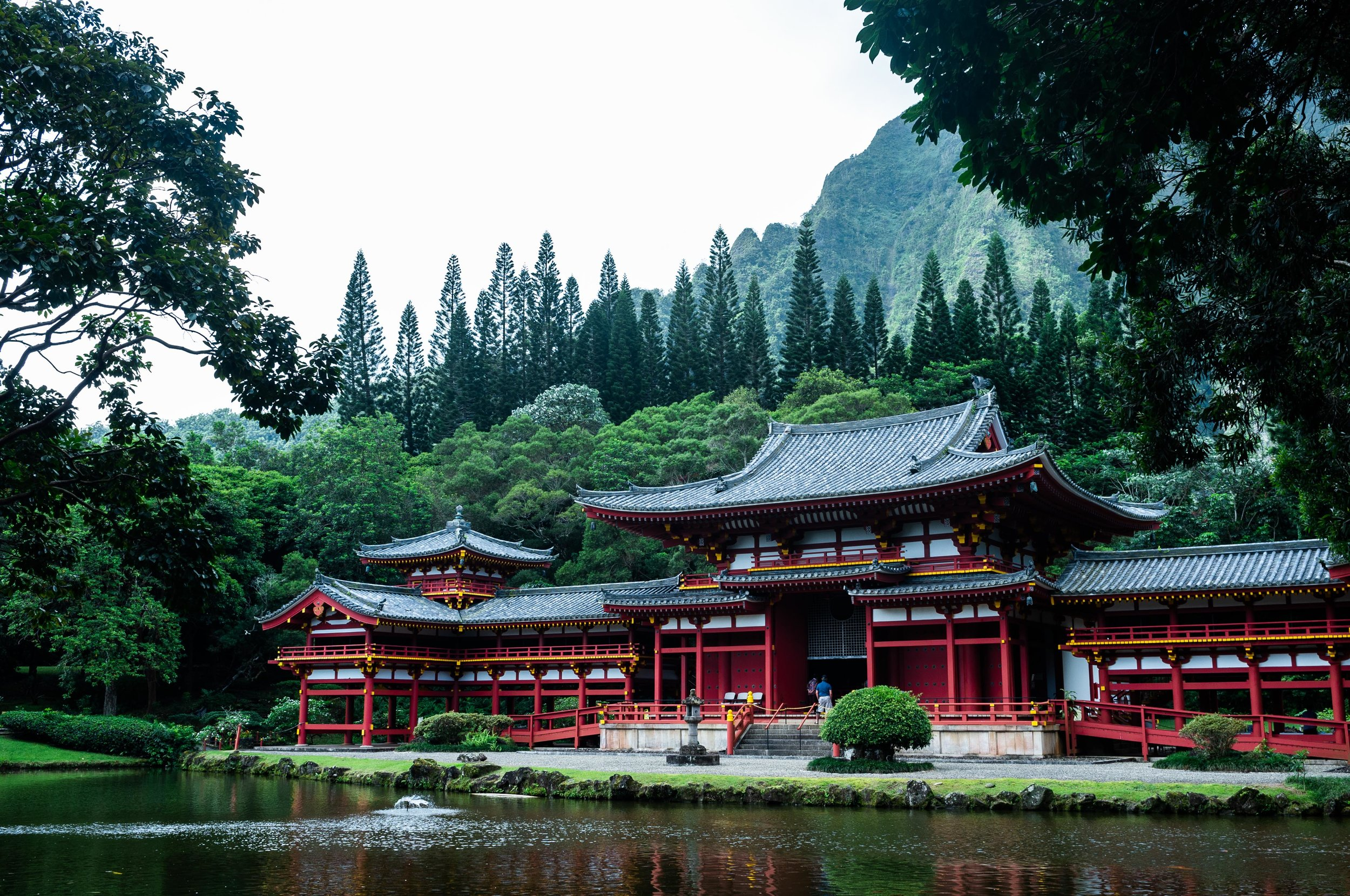 The Byodo-In Temple 1