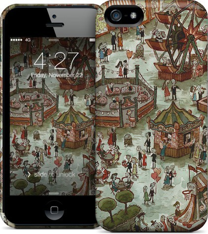 """Or just put """"Zombie Fair"""" on your phone and feel the magic of zombie couples enjoying a warm summer's day at a fair…."""