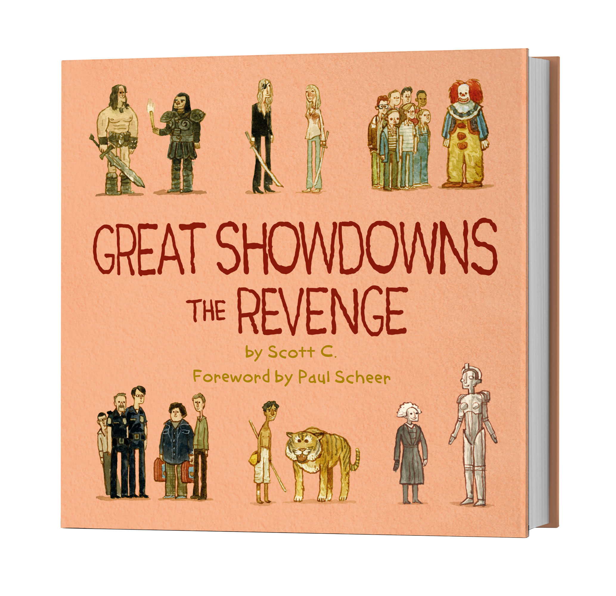 1. GREAT SHOWDOWNS THE REVENGE (the book) – $15