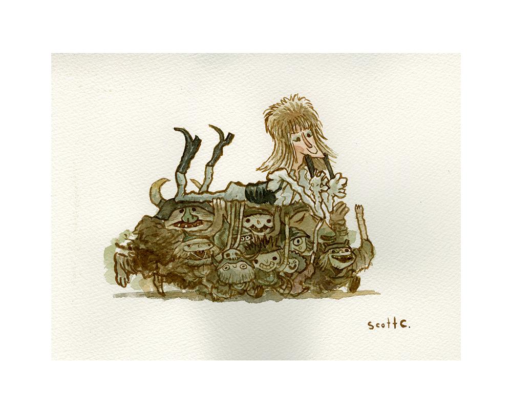 5. Goblin Dreams print – $25
