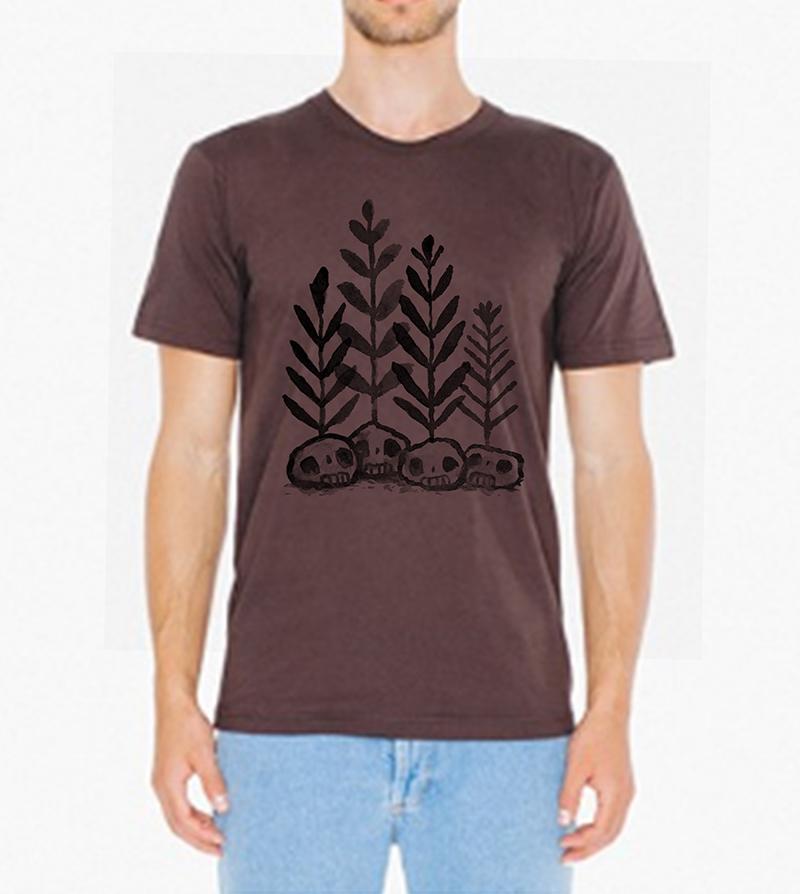 6. Skull Plants Shirt $20