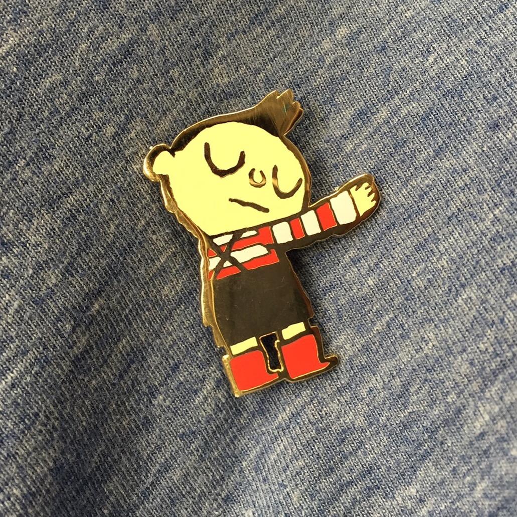 Hug Machine pins!!!