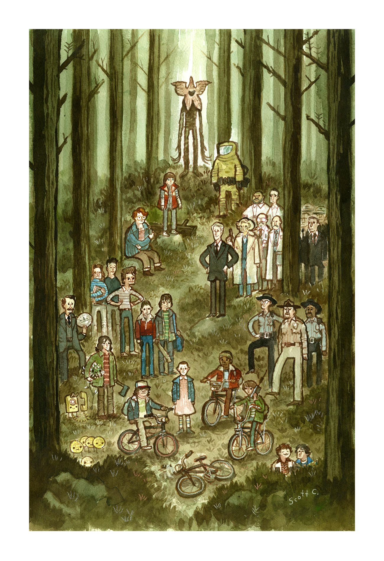 NEW Forest of Things print (13×19 edition of 300) $45
