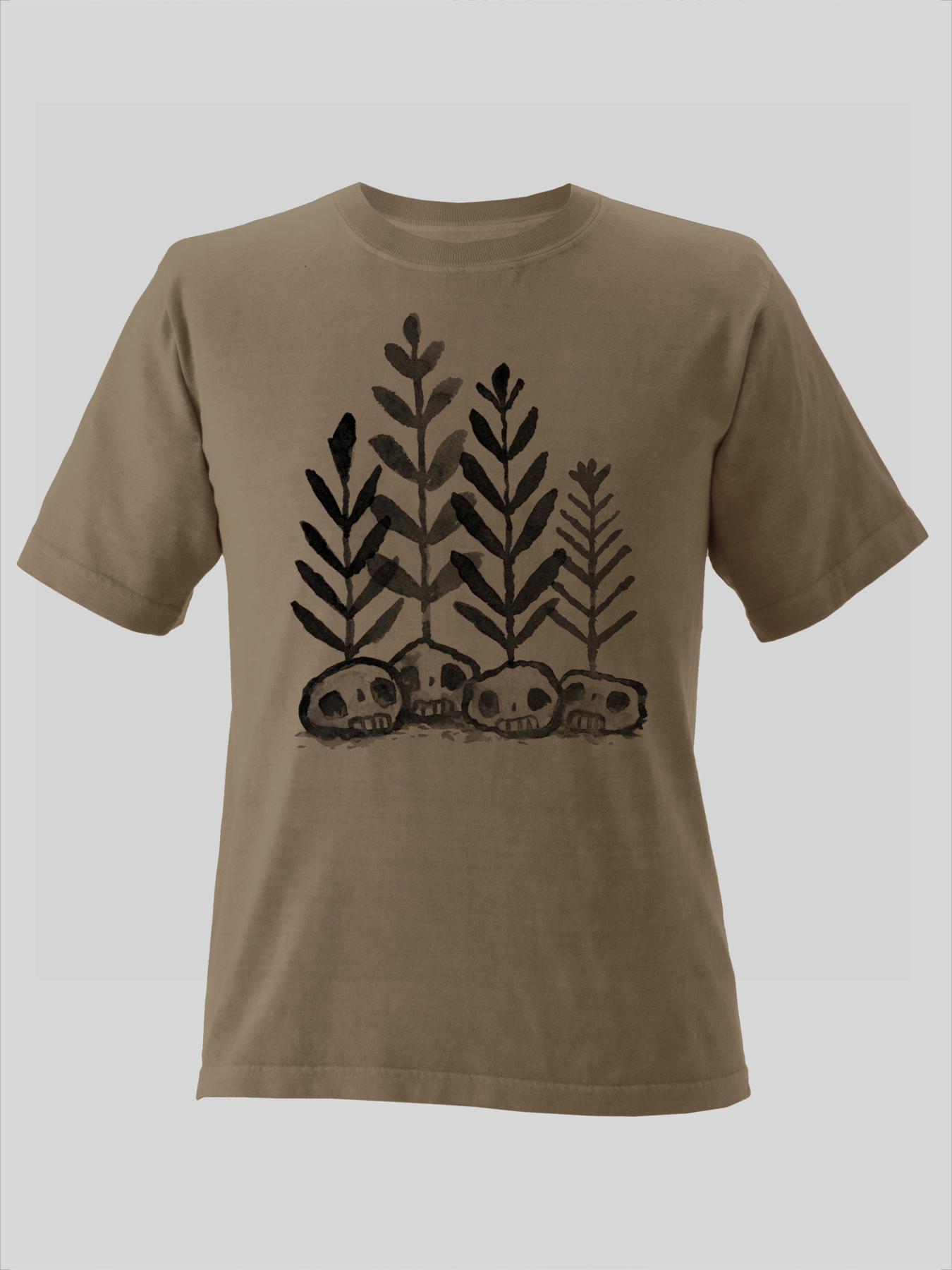 Skull Plants Shirt $20