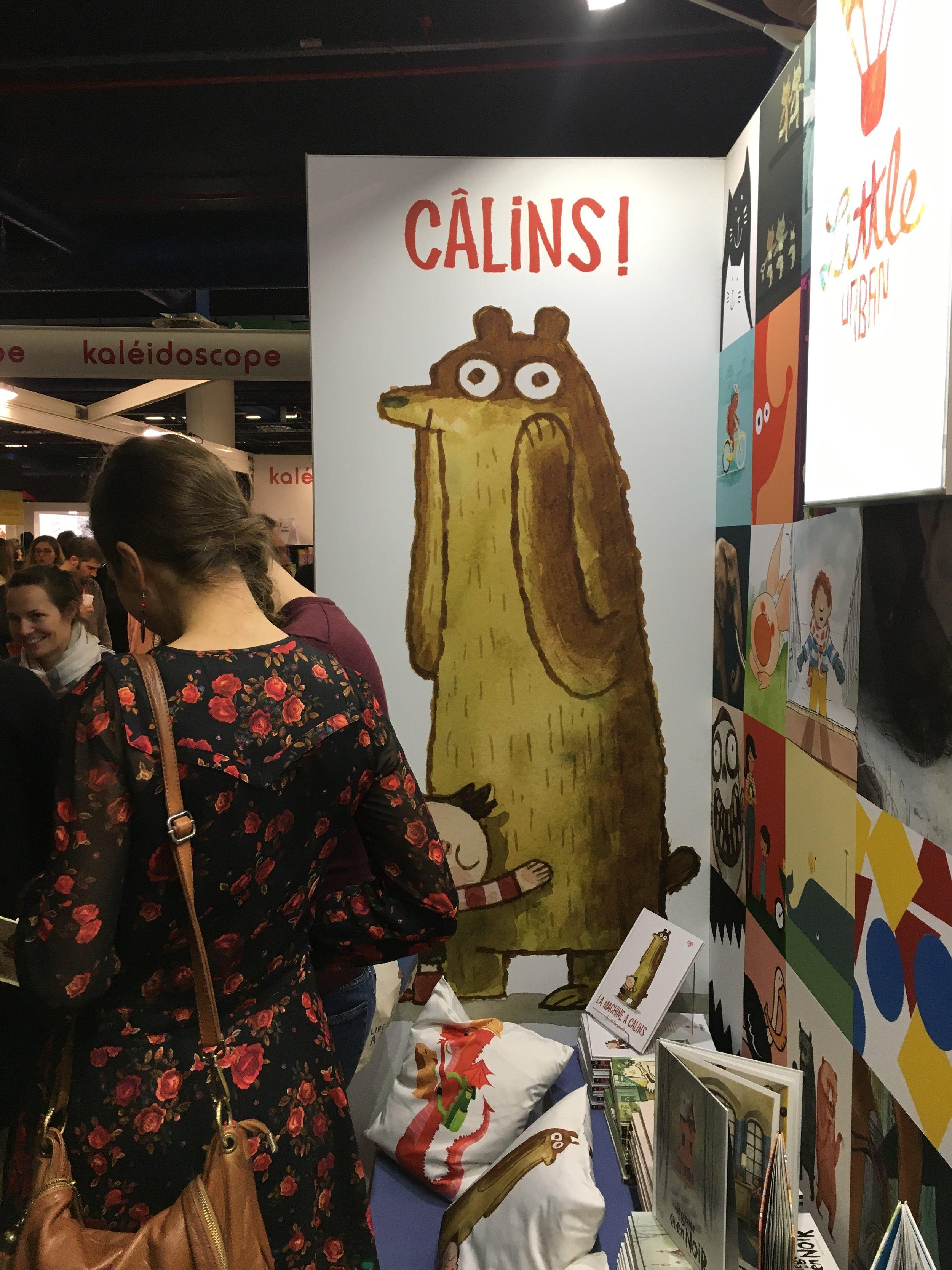 It's the Cálins Bear!
