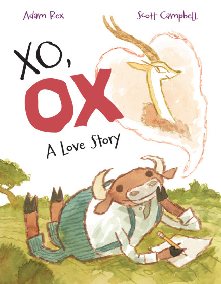 """""""XO, OX A Love Story"""" children's picture book – $18"""