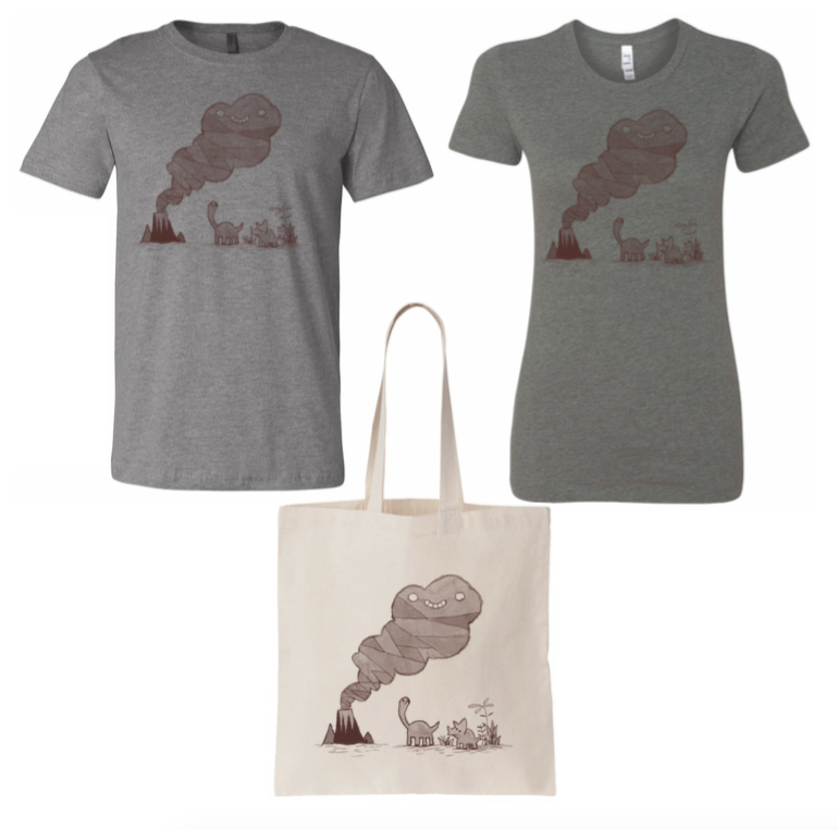 NEW Volcano Cloud T-shirts and Totes!   Volcano Cloud Shirt (Men's and Women's styles) $20   Volcano Cloud Tote Bag - $15