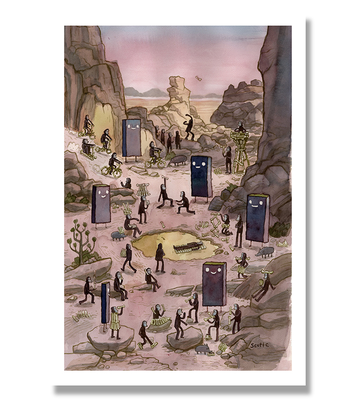 The Dawning   - $45 (13x19 edition of 150)