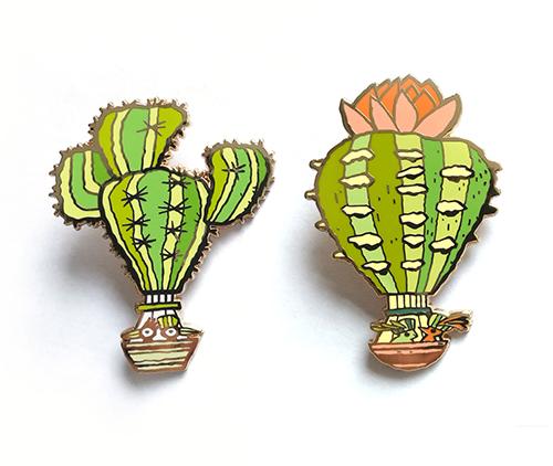 Desert Float Pin 1    - $10    Desert Float Pin 2    - $10