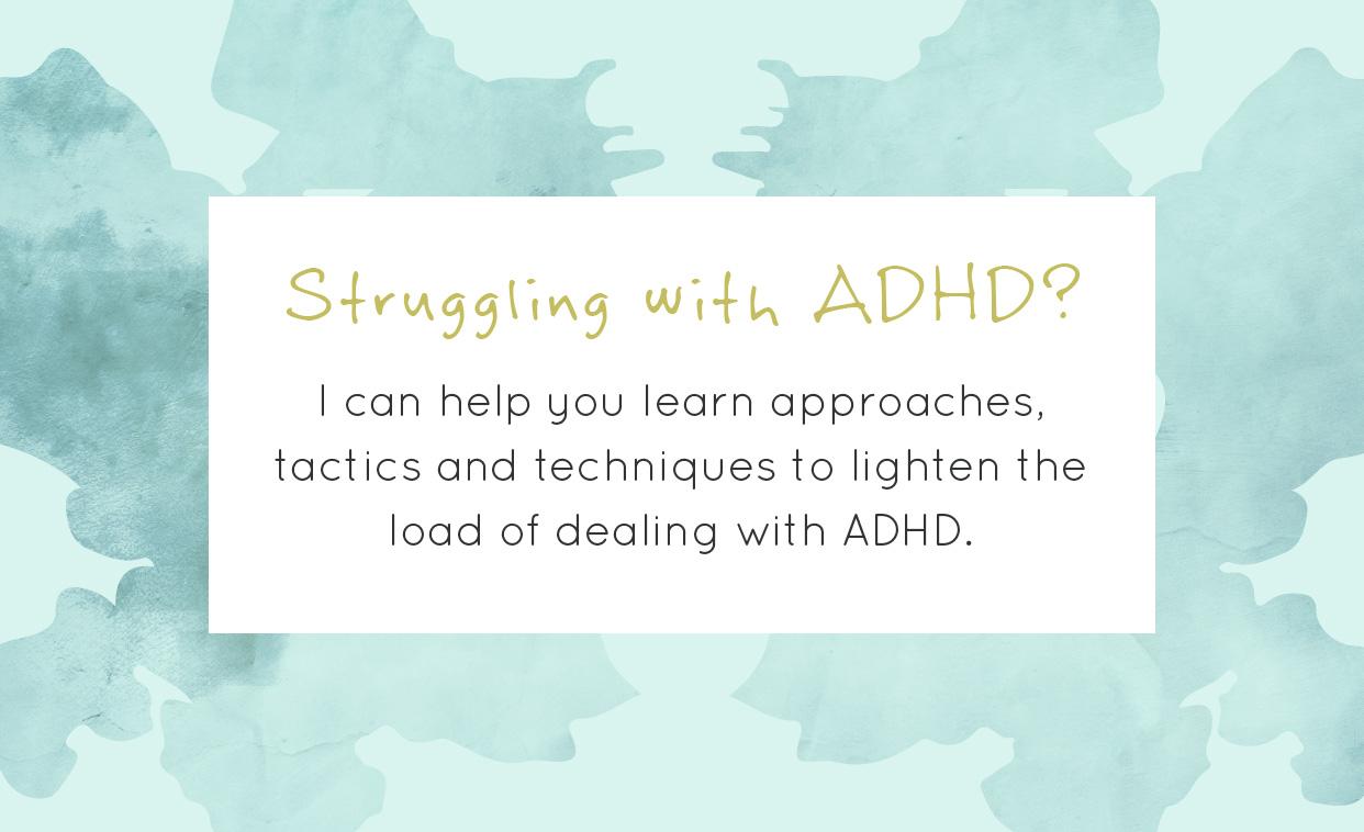 ADHD Coaching help tactics and techniques