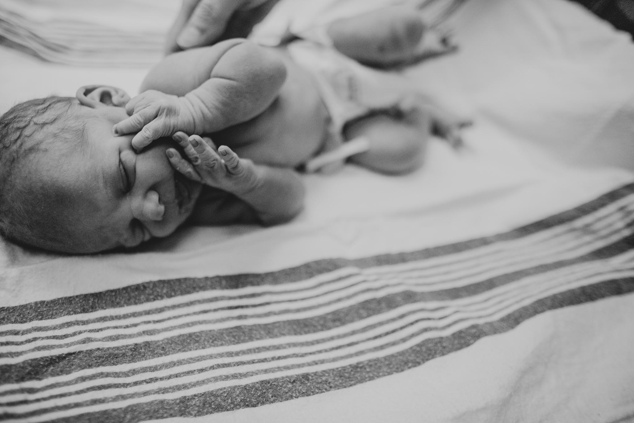 Newborn baby at Hospital Fresh 48