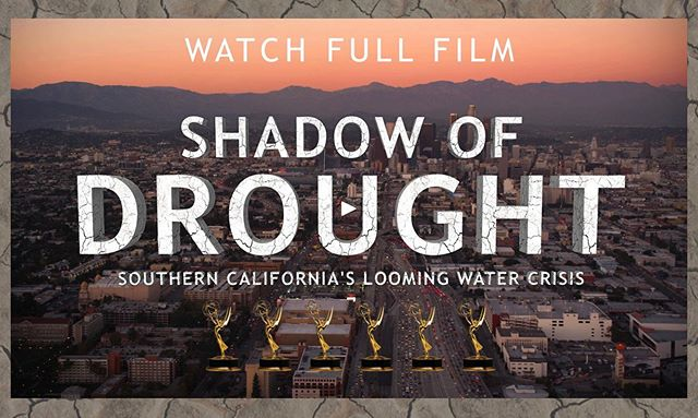 What's changing with our water supply in the West? 💧☀️ Learn more in our Emmy award-winning documentary-- now available to watch online for FREE! . . ✨Swipe Left for Full Trailer 👈🏼 . . 🎞☝🏼☝🏼Link in Bio for Full Film☝🏼☝🏼🎞 . . . #droughtfilm #freemoviesonline #freefilm #documentary #climatechange #trailer #environment #cawater #coloradoriver #drought #cadrought #mustsee #free