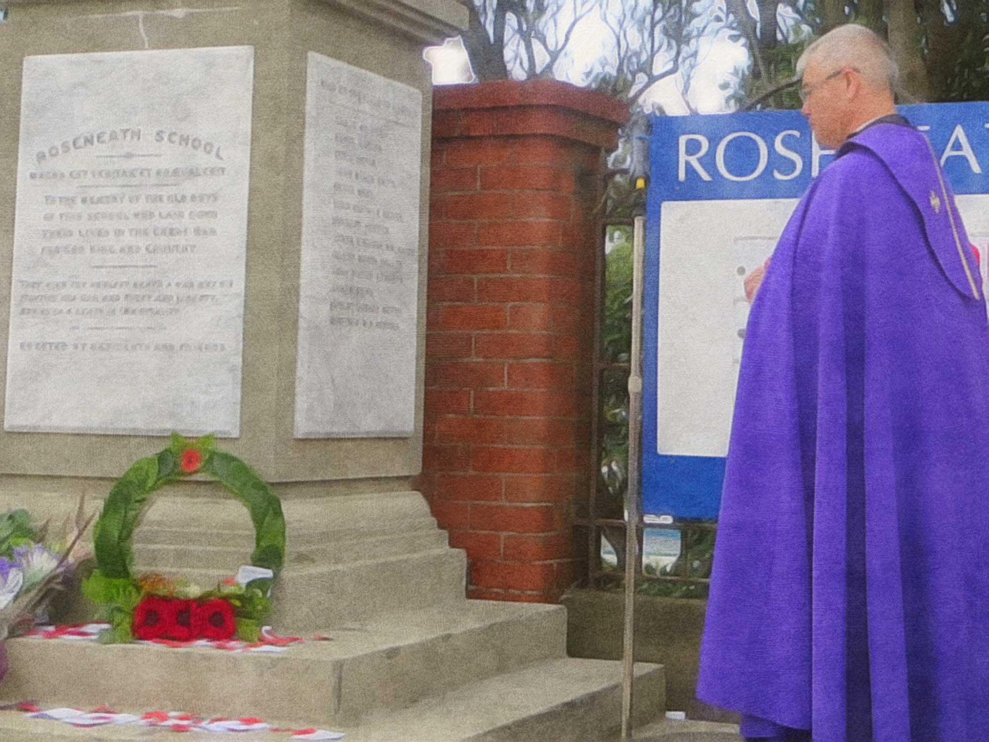 ANZAC Service at Roseneath Memorial 2015