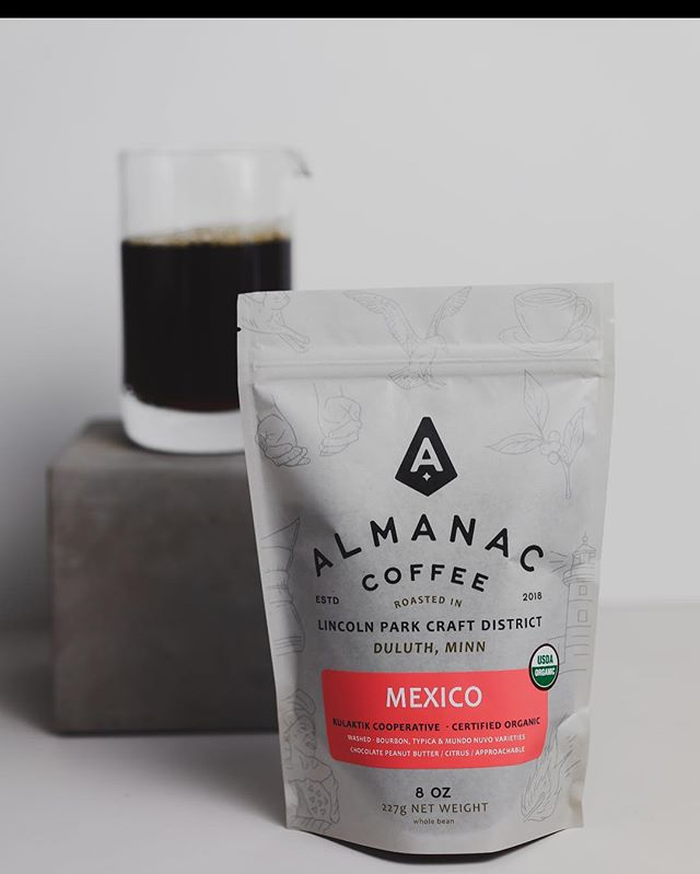 M E X I C O // Really happy with our new Organic coffee from the Kulaktik Cooperative (made up of 250 family farms in Chiapas). Loads of chocolate and citrus notes that are perfect for these foggy, spring mornings.  Available online & throughout the Midwest to all wholesale partners.