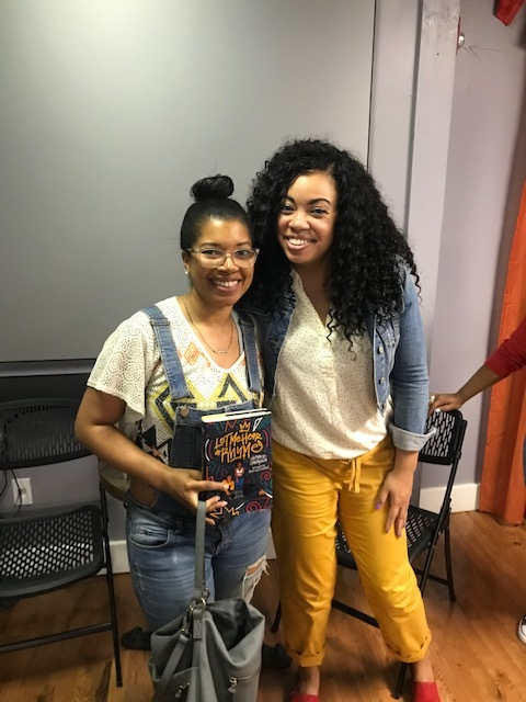 PTW Founder & EIC Ashley M. Coleman and Author Tiffany D. Jackson