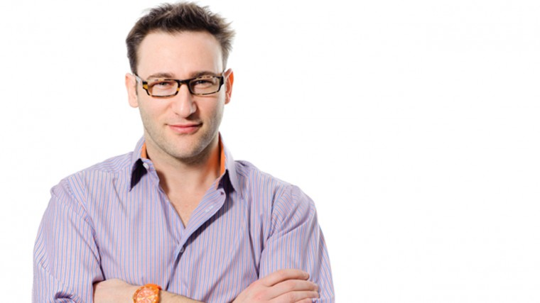 """""""People don't buy what you do, they buy why you do it"""" - - Simon Sinek."""