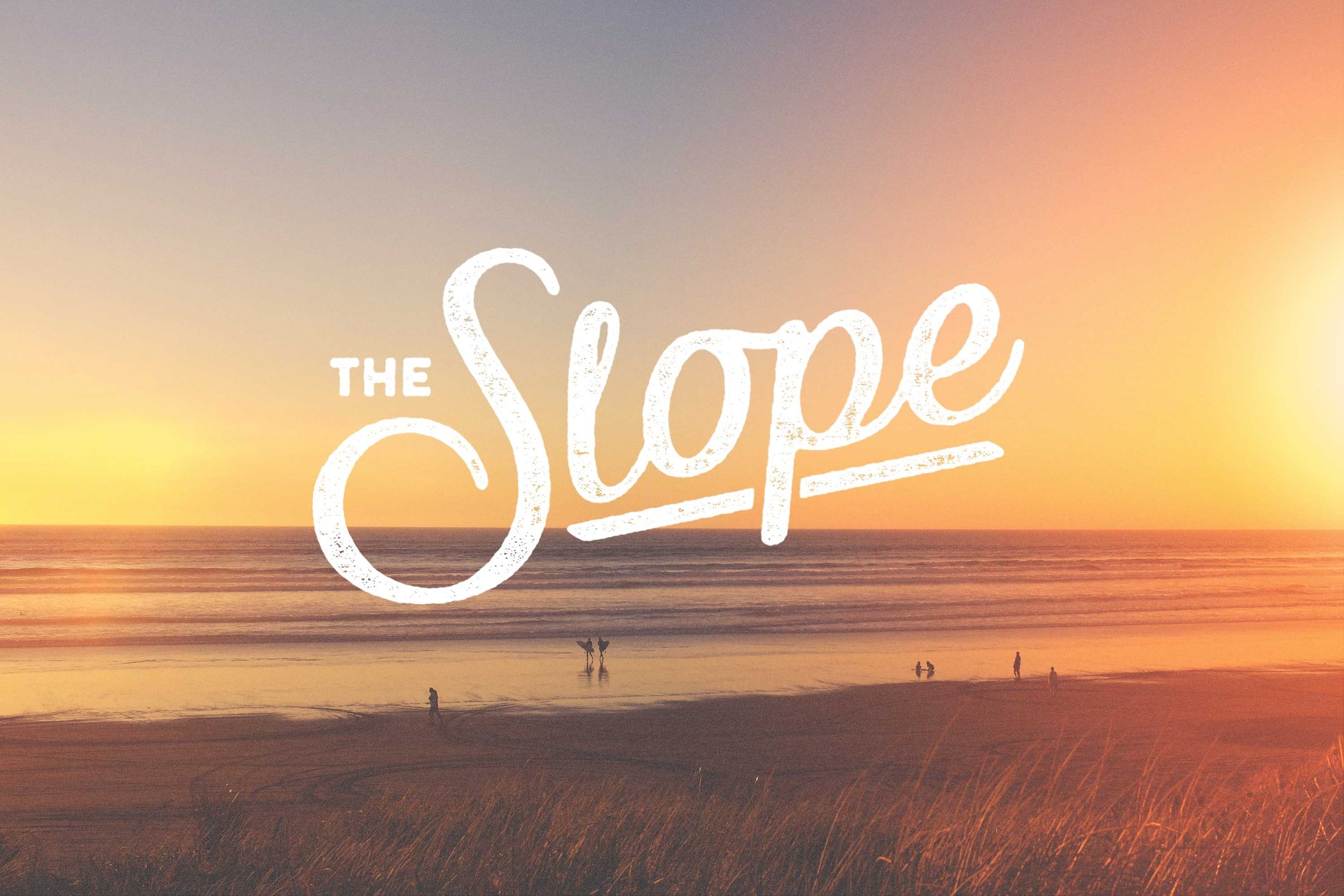 Branding    THE SLOPE BAR    View Project