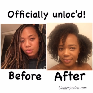 I Combed Out My Locs After 27 Years! — golden jordan
