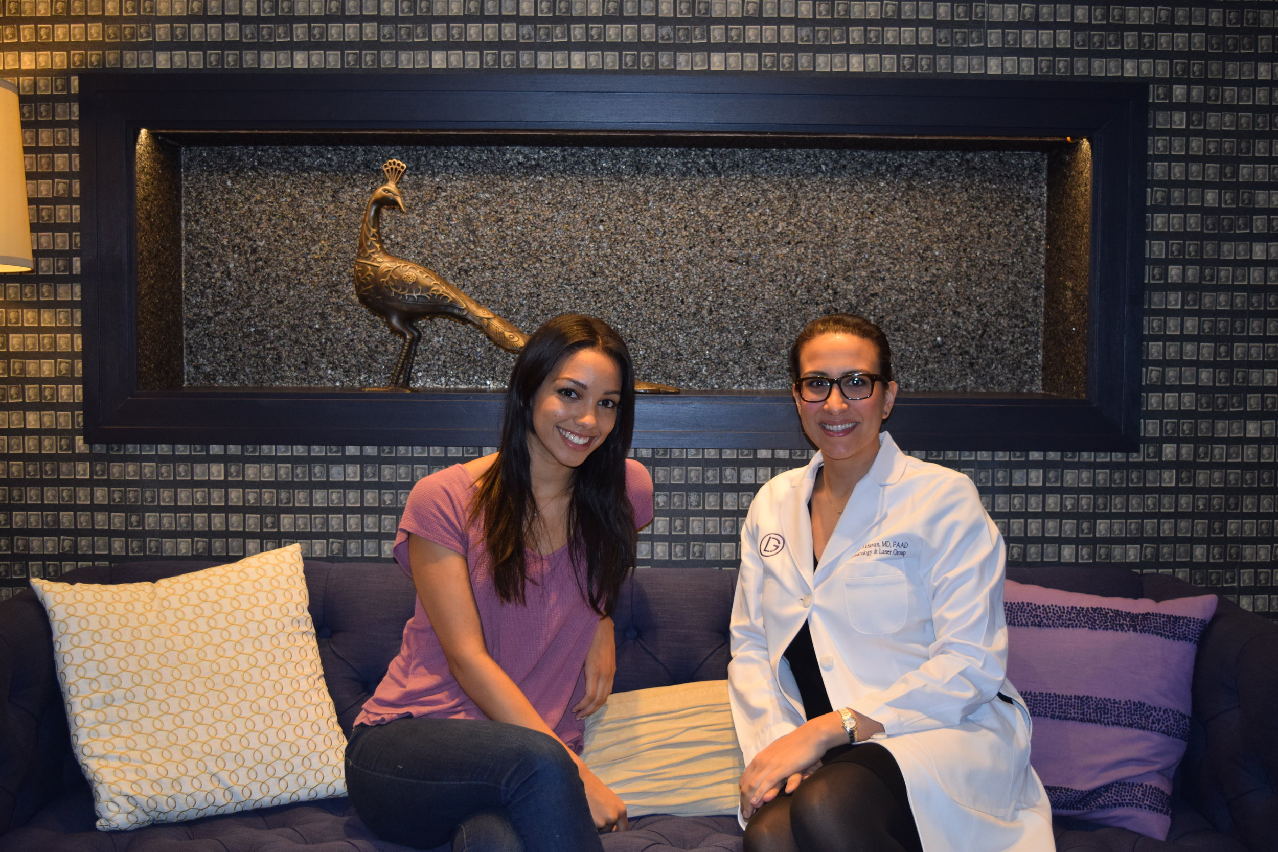 Founder, Corinne Foxx, and Dr. Alaleh Akhavan sit down for a chat about skin care.