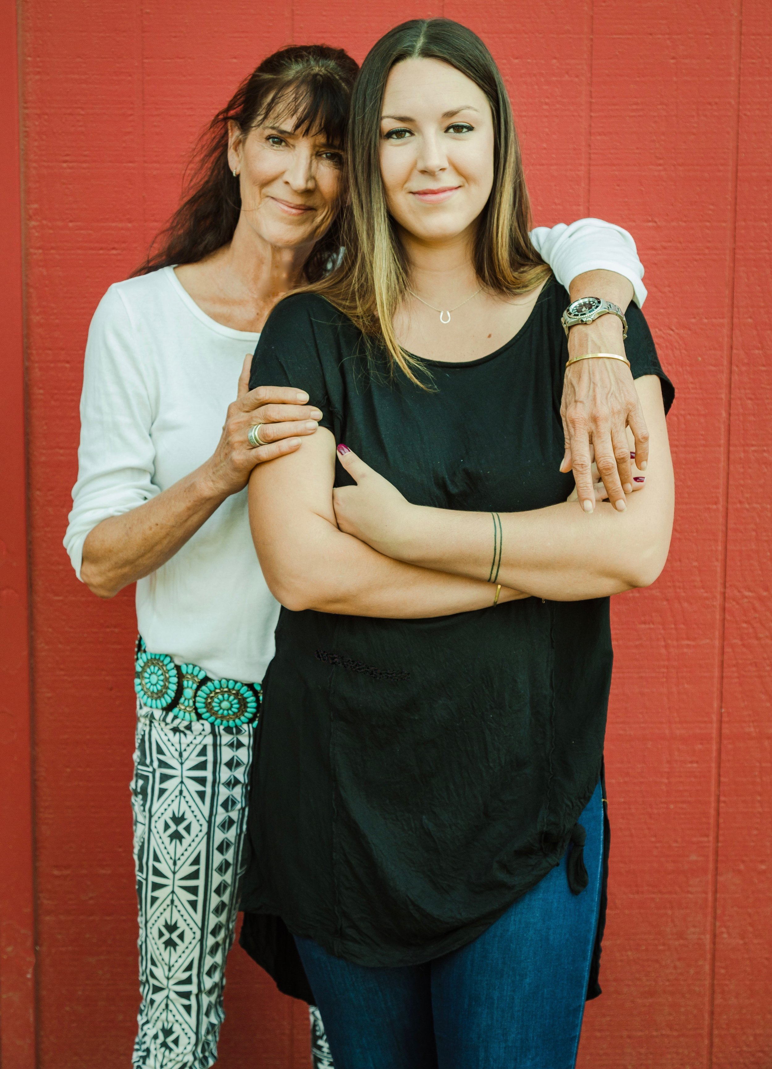 Mother-daughter duo, Jesse & Riley