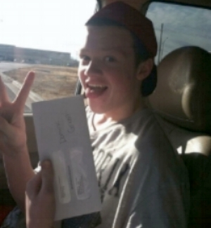 Dominic's First Paycheck