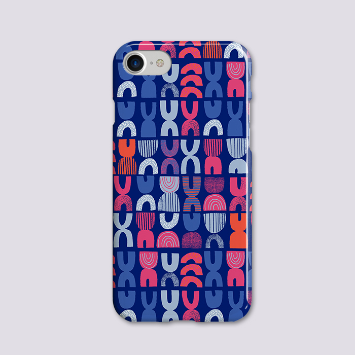 Ocean reflection pattern - iphone hardcase