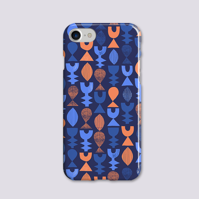 Nature abstract pattern - iphone hardcase