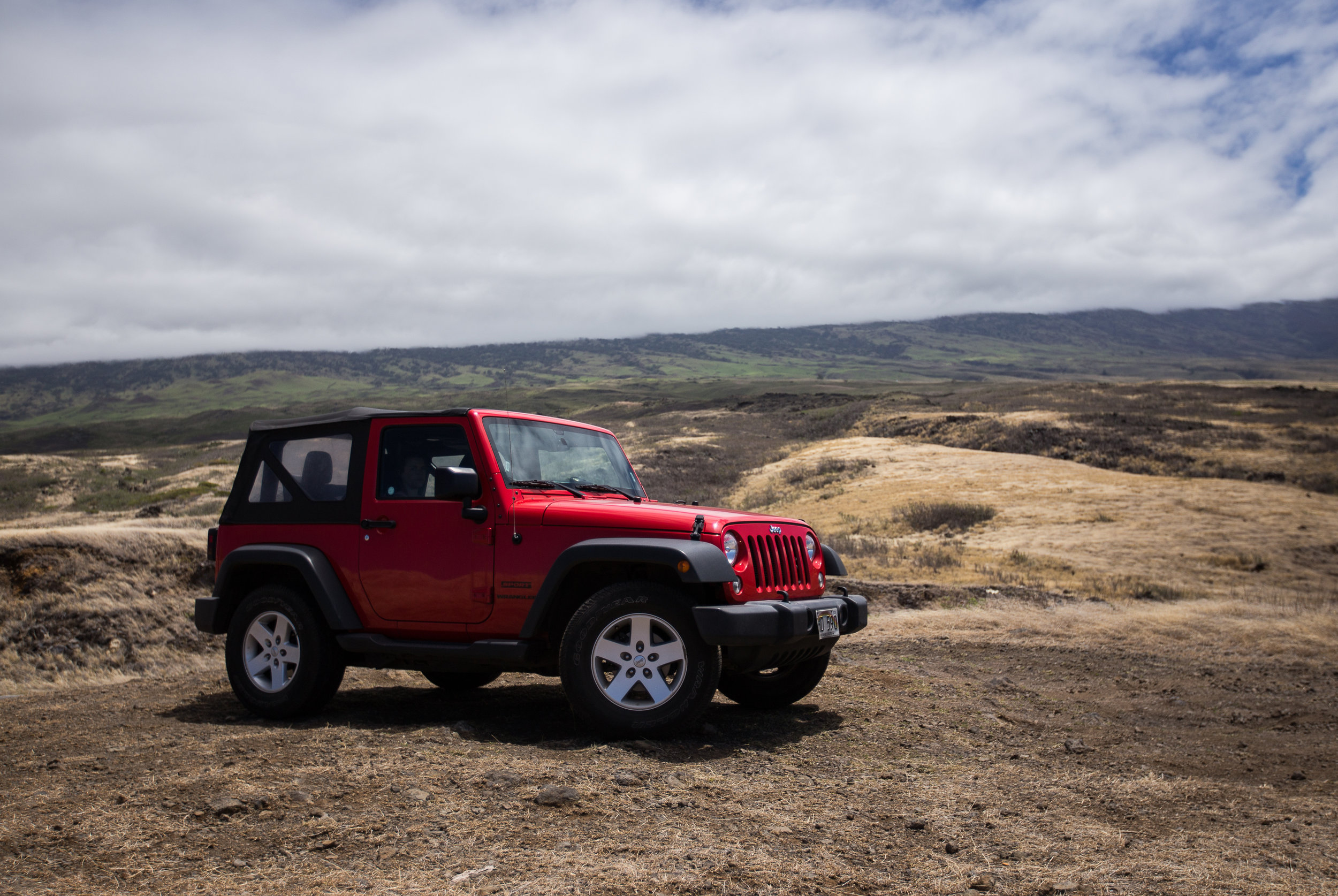 Jeeps are very useful in Hawaii :)