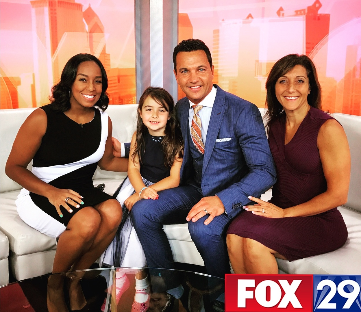 Marcello Pedalino, Lauren Johnson, Fox 29, Good Day Philadephia, Author of Celebrate Life