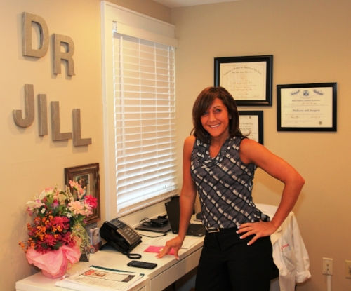 Dr. Jill Garripoli Pedalino , Owner of  Healthy Kids Pediatrics .