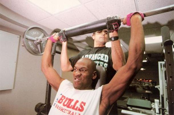 Tim Grover & Michael Jordan
