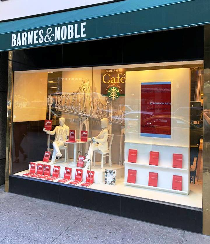 Neen James - Attention Pays - Barnes and Noble - 5th Ave.jpg