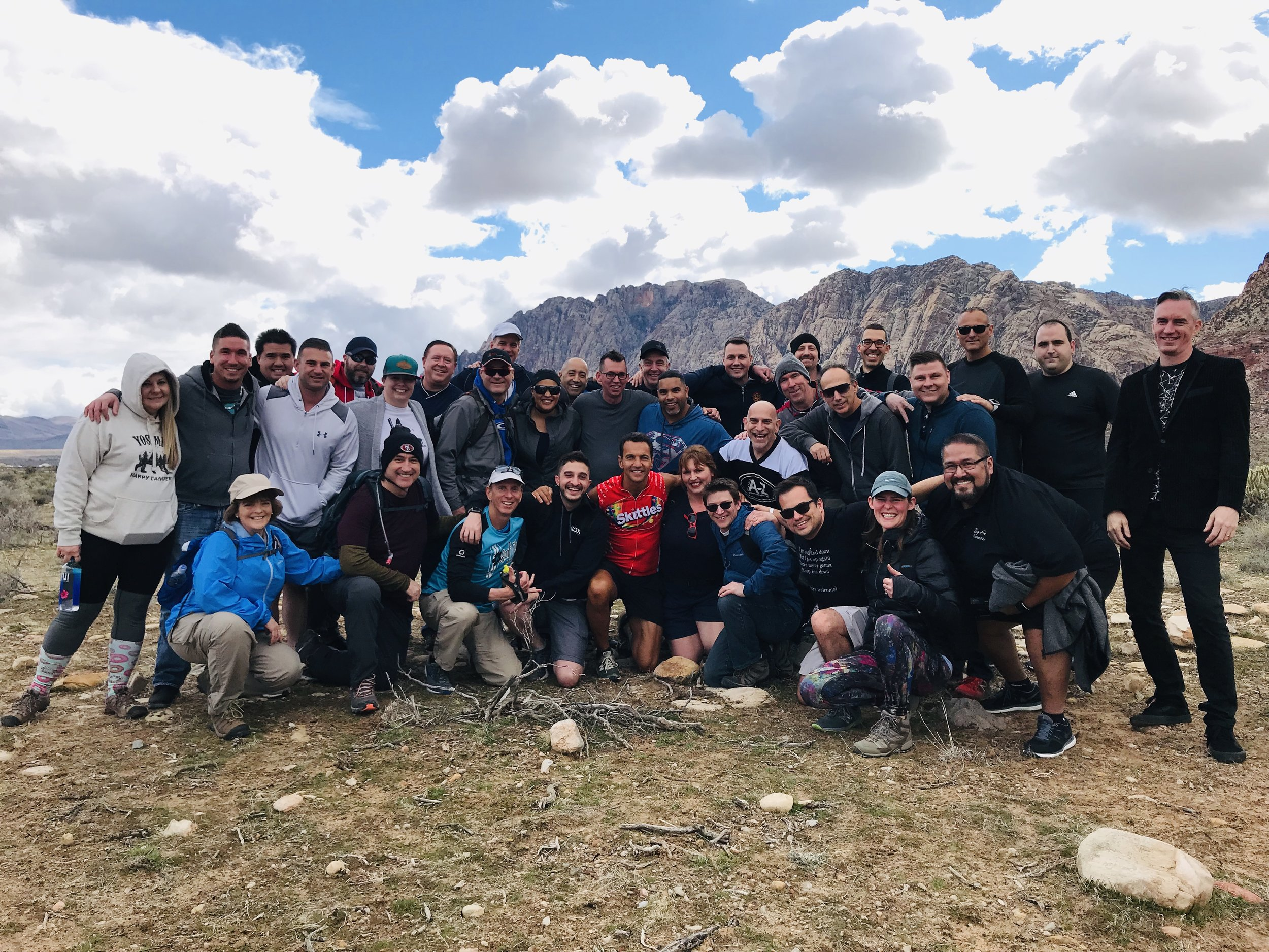 The 2019 Celebrate Life Hike at Red Rock with Marcello Pedalino and Friends