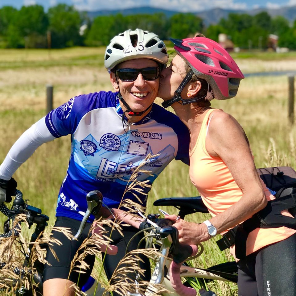 In the book, I talk about keeping good company, taking care of yourself, the importance of travel, and making a difference. Sometimes, thanks to some great friends,  Ron  and  Jill  Michaels, I was able to check off all 4 boxes. Jill turned 60 and Ron helped her celebrate by organizing a 60 mile ride in Colorado with some VIPs (Very Inspiring People) to raise money for the  Larimer Humane Society . Folks, if you want to sip from the fountain of youth; make fitness a priority, do nice things for other people, go on as many adventures as you can, and spend your time with awesome people. Yes, it's easier said than done, but totally worth the extra effort! Ron and Jill are stellar examples of how to live.