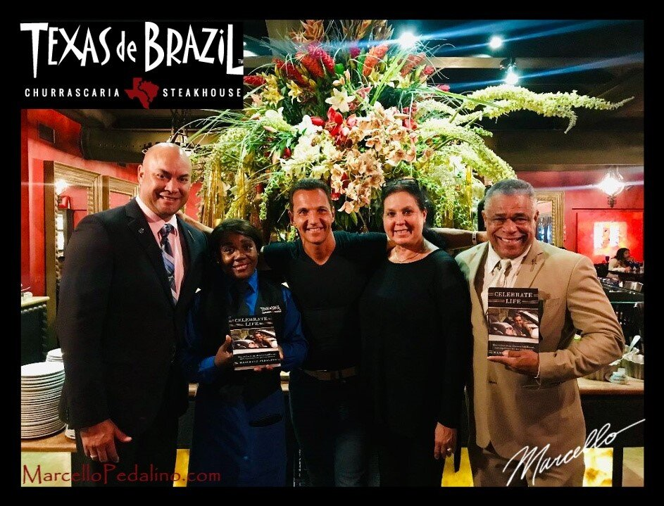 Marcello Pedalino CFT, CNC  Fitness Trainer, Author of Celebrate Life,  Texas De Brazil
