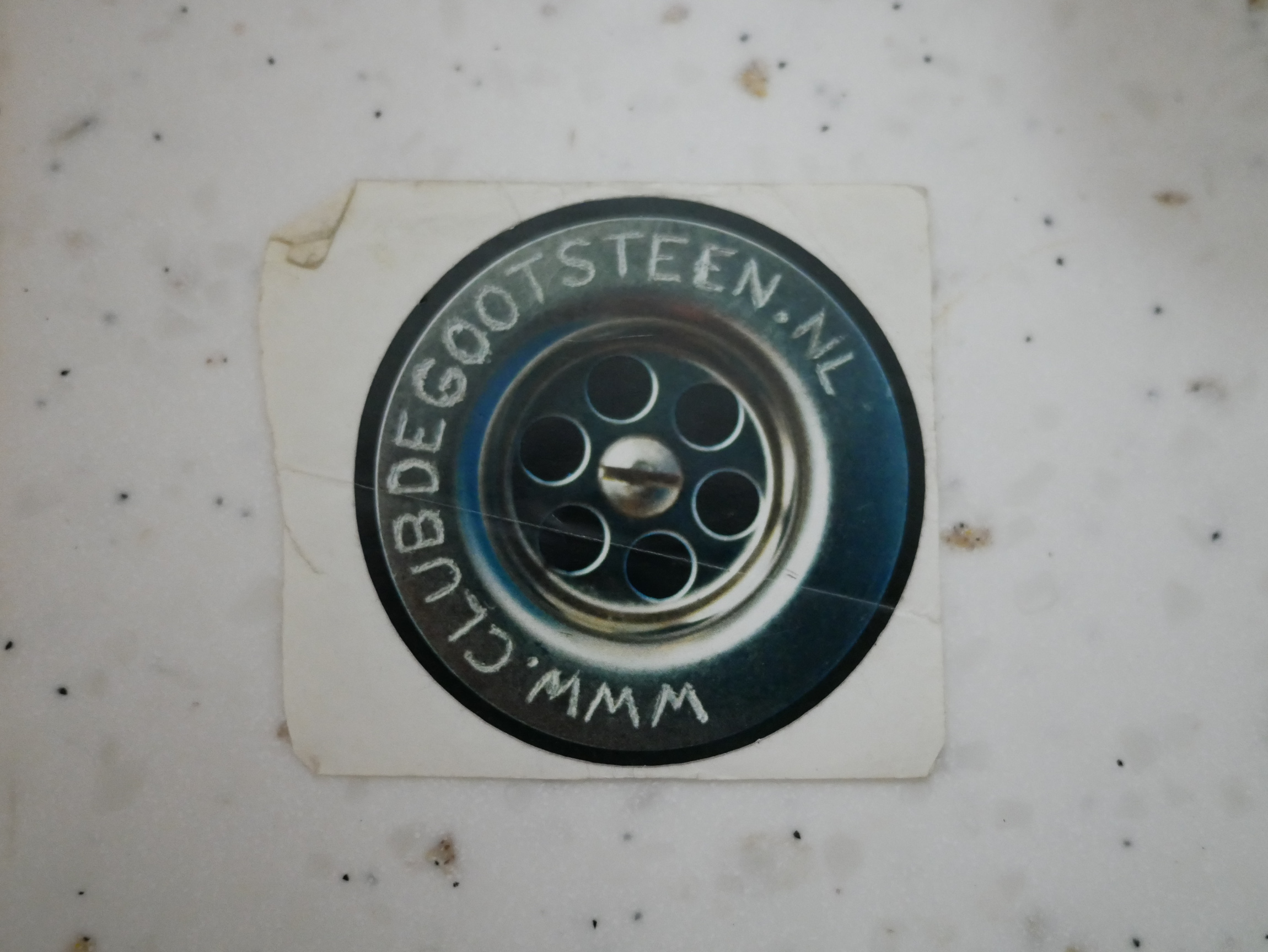 Stickers of the club were spread around the city and can be found in many toilets of bars and clubs in Groningen.
