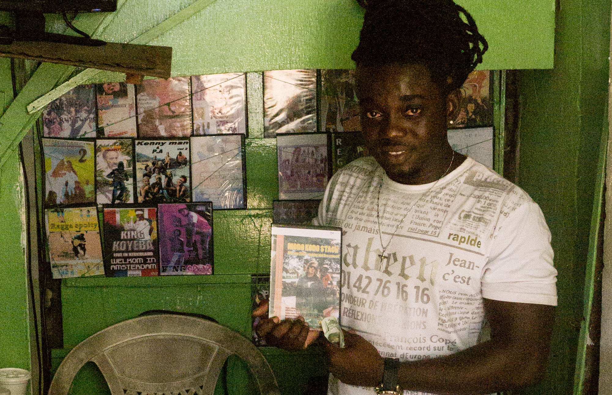 In 2015 I re-visited Surinam and spread DVDs of the modo Kodo adventure through the dvd shops you can find everywhere.